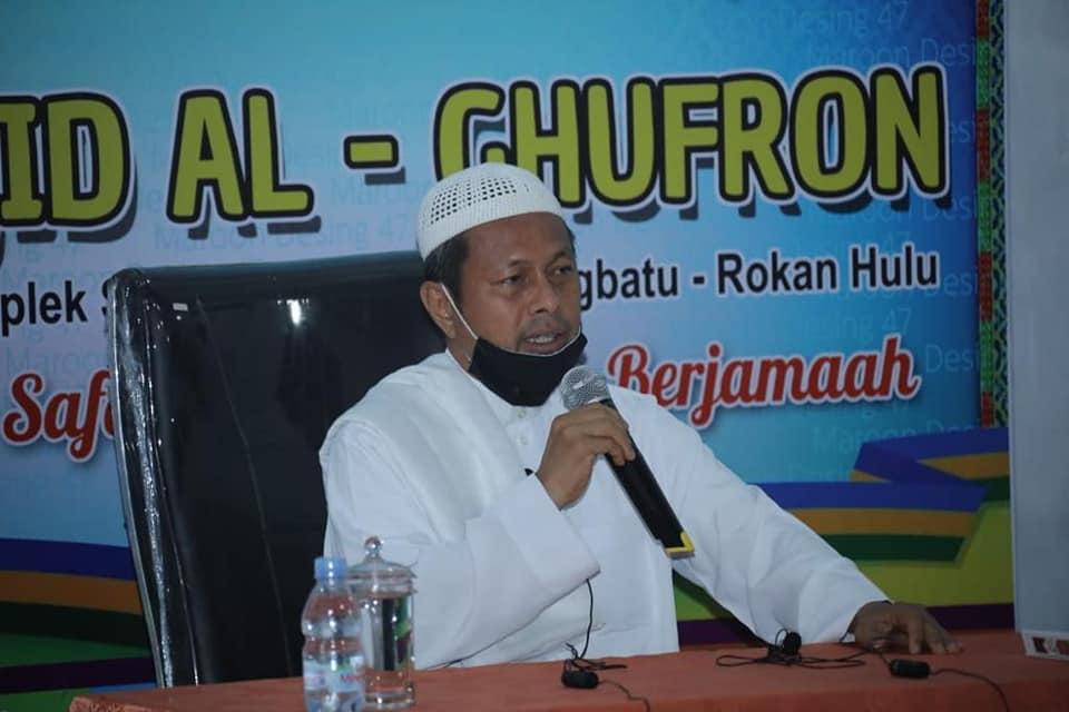 <p>Pjs. Bupati Rokan Hulu, terus berupaya tingkatkan Program Keagamaan di Negeri Seribu Suluk dengan mengikutiKegiatan Sholat Subuh Berjamaah (GSSB) di beberapa masjid kecamatan se Rokan Hulu.</p>