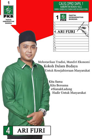 Banner Calon Legislatif