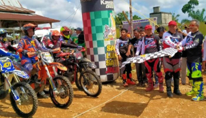 700 Rider Ikuti Jelajah Bumi Kota Intan Rohul