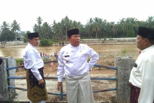 Bupati Instruksikan BPBD Rohul Jaga Gedung Shelter di Kawasan Water Front City