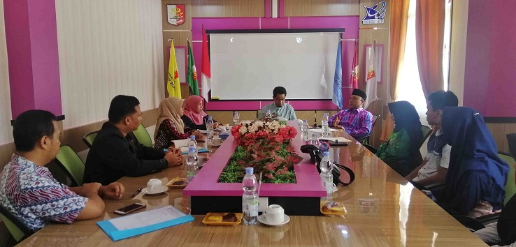 Biro Kesra Provinsi Riau Lakukan Visitasi ke STKIP Rokania