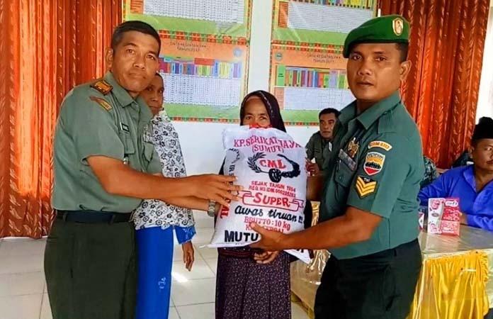 TERKAIT PILPRES : Danramil 02/Rambah Ingatkan Prajurit Tidak Berpolitik