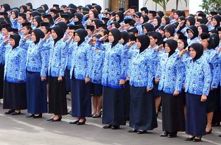550 ASN di Rohul Terima Penghargaan Satyalancana Karya Satya