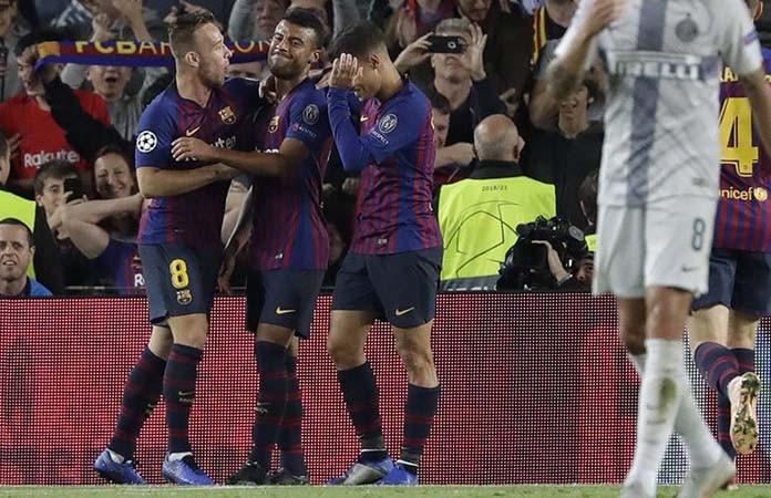 Tanpa Messi, Barcelona Gulung Inter Dua Gol Tanpa Balas