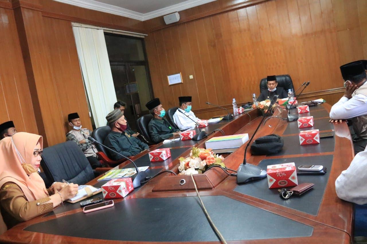 Optimalisasi Zakat, Pjs Bupati Rohul Dorong Baznas Bentuk Forum Zakat
