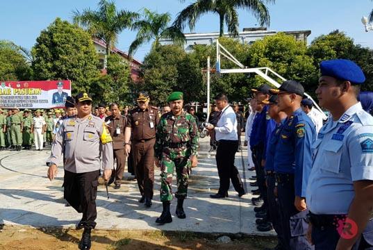 300 Personel BKO Polda Riau turut Amankan Pemilu 2019 di Rohul