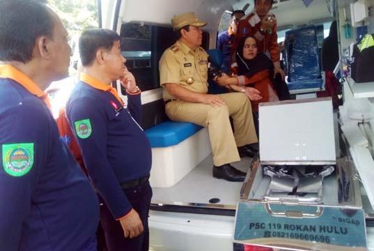 Dinkes Luncurkan Ambulance Public Safety Center 119