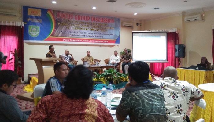 SPKS Rohul Gelar Focus Group Discussion Forum Multistakerholder Perkebunan