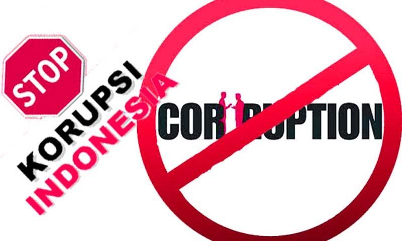 Peringati Hari Anti Korupsi Internasional, Pegawai Kejari Rohul Bagi-Bagi Suvenir