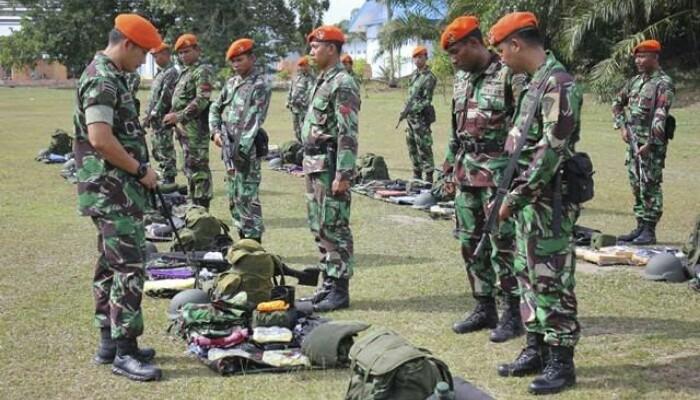 369 Personel Yonko 462 Paskhas AU Jungar di Bandara Tuanku Tambusai Rohul