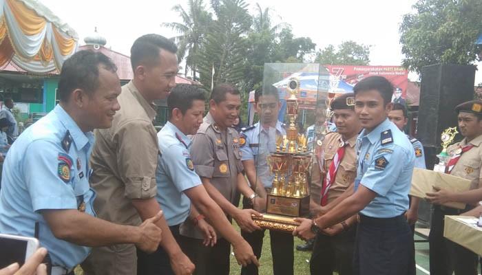 Meriahkan Hari Dharma Karyadhika, Lapas Pasir Pengaraian Taja Beragam Lomba