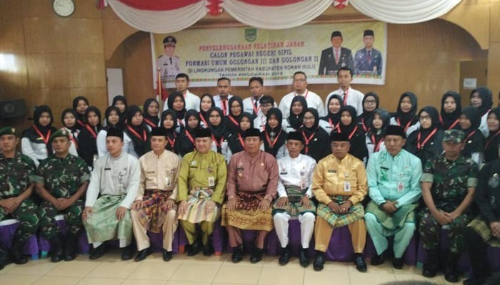 249 CPNS Pemkab Rohul Golongan III Ikuti Latsar di Dua Lokasi