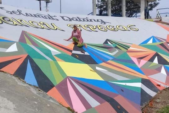 Komitmen Bupati Tata Objek Wisata, Inilah Wajah Baru Wisata Danau Cipogas