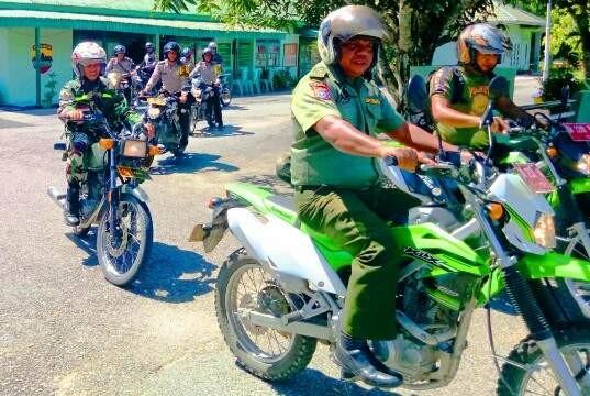 Jelang Asian Games 2018, TNI dan Polri Tingkatkan Patroli Karlahut di Rohul