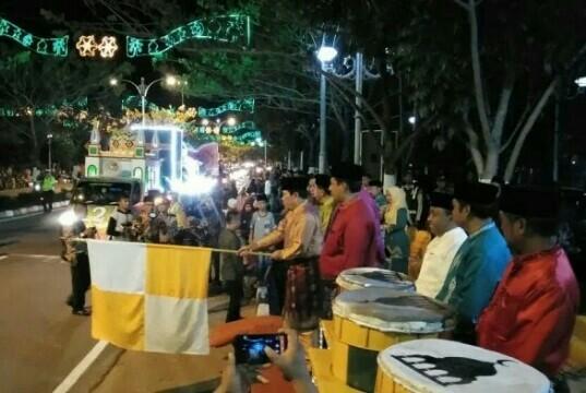 Pawai Takbir Malam Idul Adha, Masjid Al Mukhlisin Sebotih Baru Raih Juara I