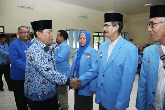 Dihadiri Bupati dan Sekda, Pengurus FORMI Rohul Periode 2017-2022 Dikukuhkan