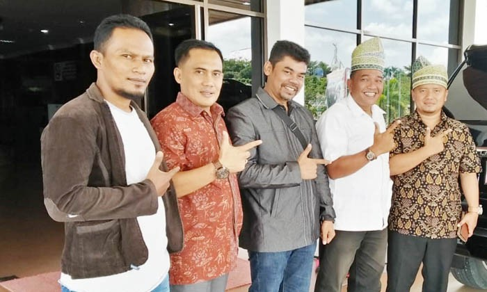 Pengurus PPIR Rohul Silaturrahmi ke Ketua dan Sekretaris DPC Gerindara Rohul