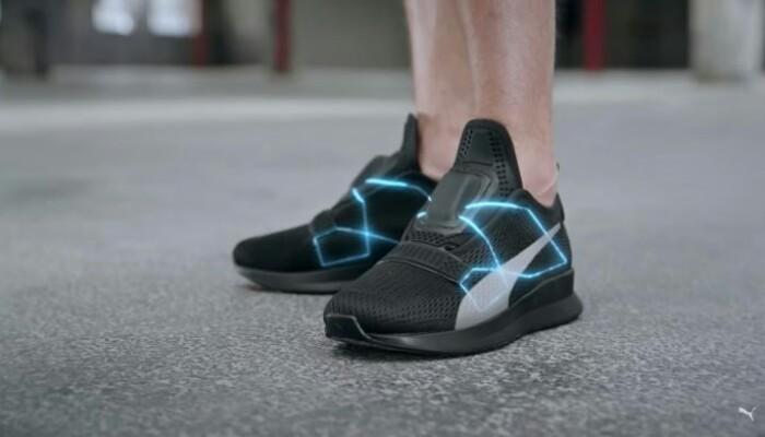Puma Hadirkan Sepatu Pintar yang Bisa Mengikat Tali Sendiri