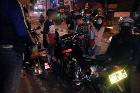 Jalan Lingkar Rohul jadi Tempat Kencan, Begini Pesan Binmas Polres Rohul