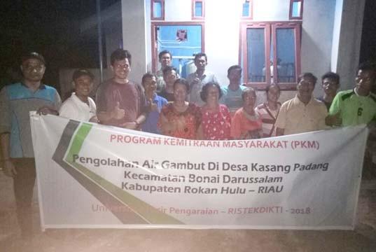 Program Kemitraan Masyarakat UPP, Revitalisasi Sistem Penyediaan Air Bersih Desa Kasang Padang