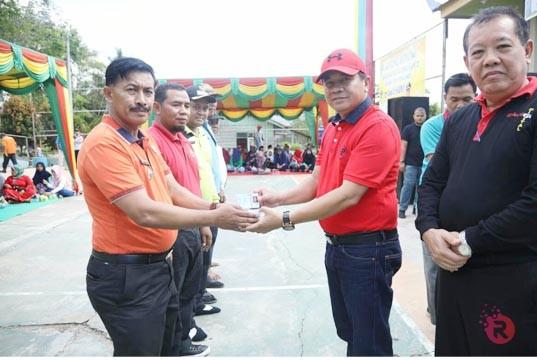 Kunjungi Desa Air Panas, Sekda Rohul Puji Budaya Gotong Royong Masyarakat