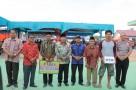 Bupati Rohul H.Sukiman Resmikan BUMDesa Mart dan Kantor Bhabinkamtibmas.