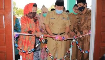 Sukiman resmikan Posyandu Dwi Tunggal Desa Pasir Luhur