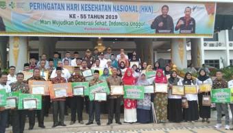 Puncak HKN Ke-55, Pemkab Komit Tingkatkan Pelayanan Kesehatan Masyarakat Rohul