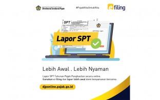 Jangan bingung, Lapor SPT secara online itu mudah! Tidak percaya ?