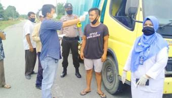 Masuk Diperiksa, Lurah Kota Lama Bangun Posko Relawan Cegah COVID-19