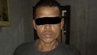 Diduga Cabuli Anak Sendiri, MR Diringkus Polisi