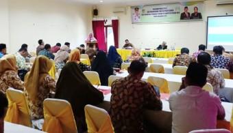 Dinsos P3A Taja Pelatihan PPRG bagi 40 Perwakilan OPD se Rohul