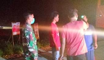 Koramil 10/ Kunto Darussalam dan Polsek Bonai Siaga 24 Jam di Posko COVID-19
