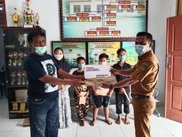 Ramadhan ditengah pandemi covid-19, PT.EDI adakan Bhakti sosial ke 7 desa dan kelurahan