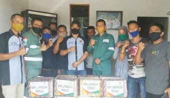 Head of Field Support dan Humas SPR Langgak Silaturrahmi ke PWI Rohul