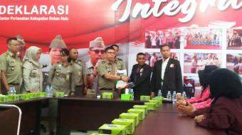 Follow-Up MOU, STKIP Rokania Antarkan 21 Mahasiswanya Magang di BPN Rohul
