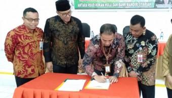 BSM Talangi Tunggakan BPJSK RSUD Rohul Rp 3.5 Milliar