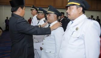 Abdul Haris Lantik 139 Pejabat Eselon III dan IV Dilingkup Pemkab Rohul