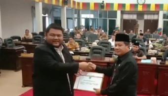 DPRD Rohul Sampaikan 1300 Pokir untuk 2021 dan Diterima Sekda Abdul Haris
