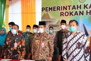 Dikukuhkan Wagubri, Pjs Bupati Dorong TPAKD Rohul Perkuat Akses Ekonomi UMKM