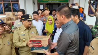 Wagubri Pantau Banjir dan Salurkan Bantuan ke Bonai Darussalam