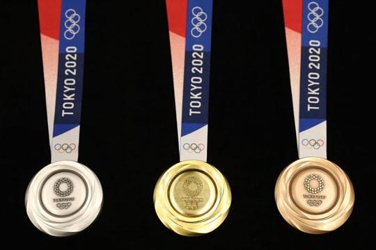 Olimpiade Tokyo 2020, Medali Terbuat dari Limbah Elektronik